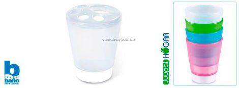 Juypal Műanyag Fogkefe tartó