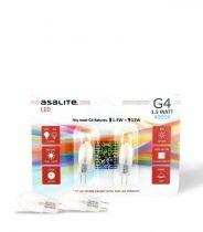 ASALITE G4 1.5W LED FÉNYFORRÁS 3000K 110 lumen