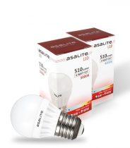 ASALITE 6W LED FÉNYFORRÁS E27 3000K 510 lumen