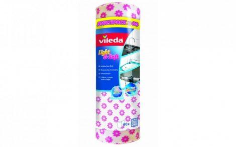 VILEDA Eldobható törlőkendő Light&Soft