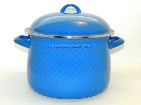 Zománcozott Fazék Alice kék rizslánc + fedő 22cm 5,5L