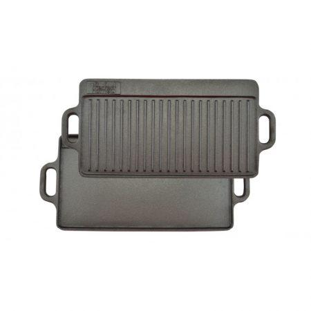 Öntöttvas grill lap 2 oldalas 51*24cm