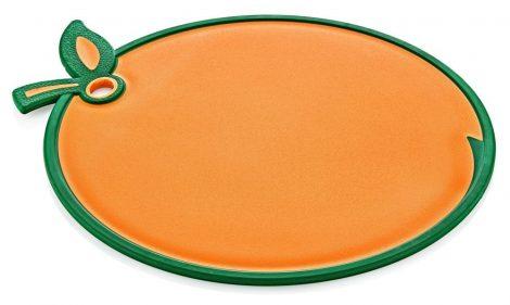 Vágódeszka narancs alakú