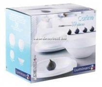 Luminarc Carine White étkészlet 19 részes