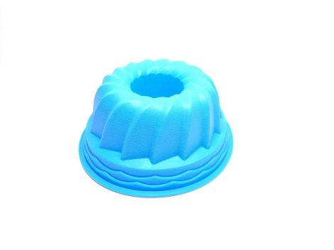 Szilikon kuglóf sütőforma 20,6cm barna