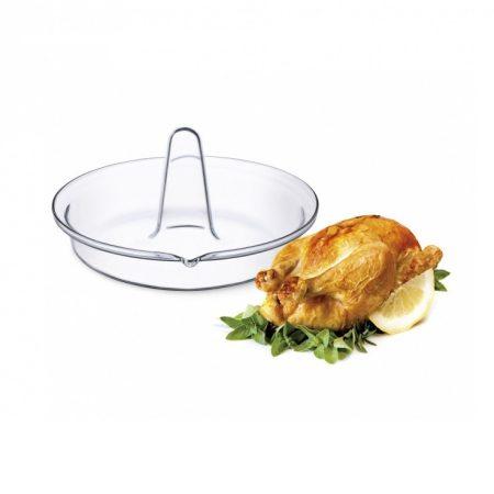 SIMAX hőálló csirke sütő kerek 24x13cm
