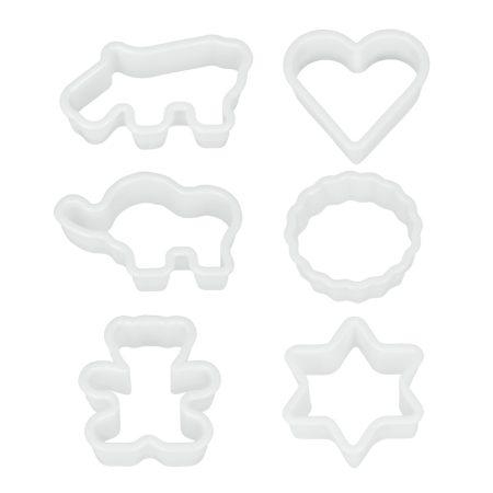 Metaltex Süteménykiszúró 6db-s mintás