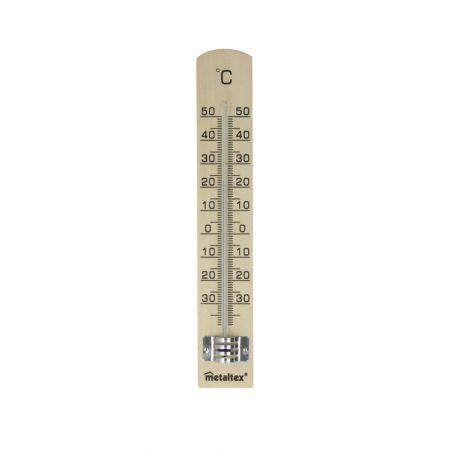 Metaltex Fa Hőmérő