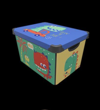 Tároló doboz Q 20L 24x30x41cm